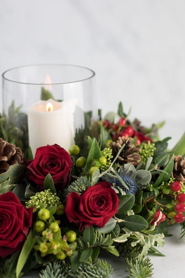 Traditional Christmas Arrangement
