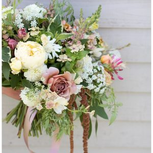 British grown bridal bouquet