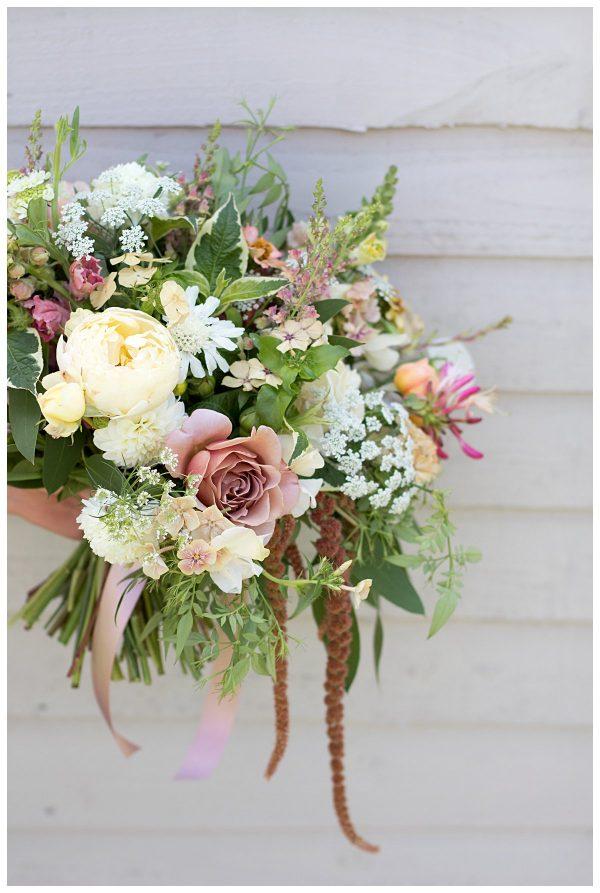British grown bridal bouquet