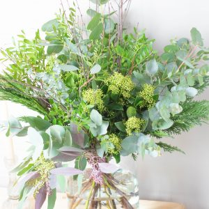 Festive foliage bouquet