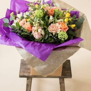 Thank you flowers | Vibrant Bouquet