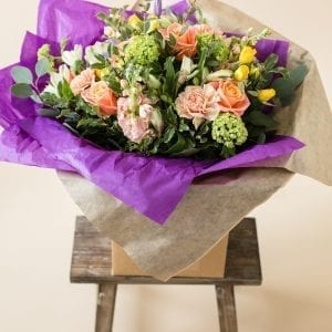 Mother's day bouquet in Vibrant colours