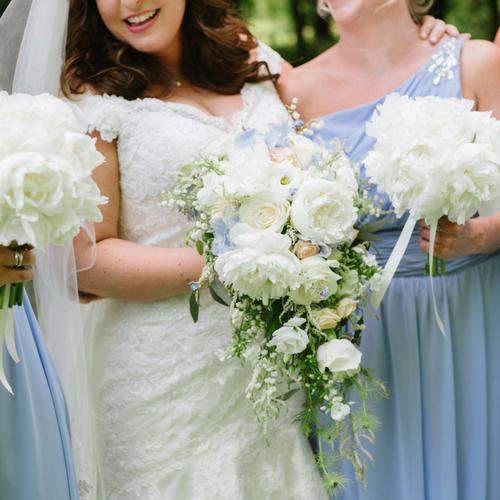 Cripps Barn wedding flowers