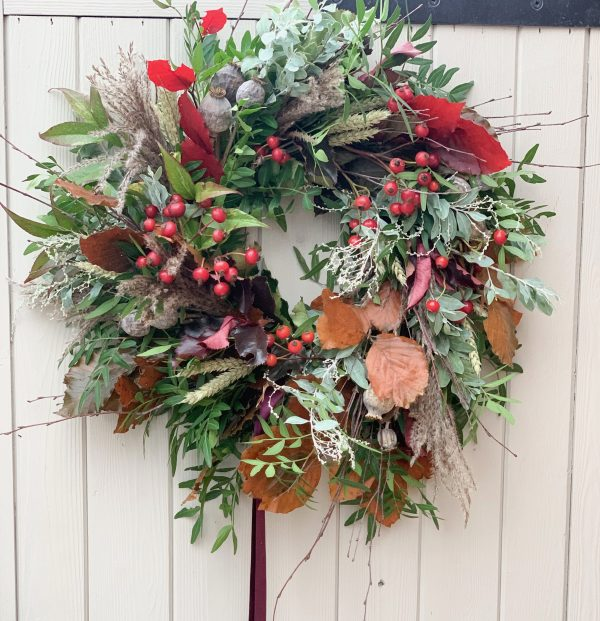Autumn Door Wreath