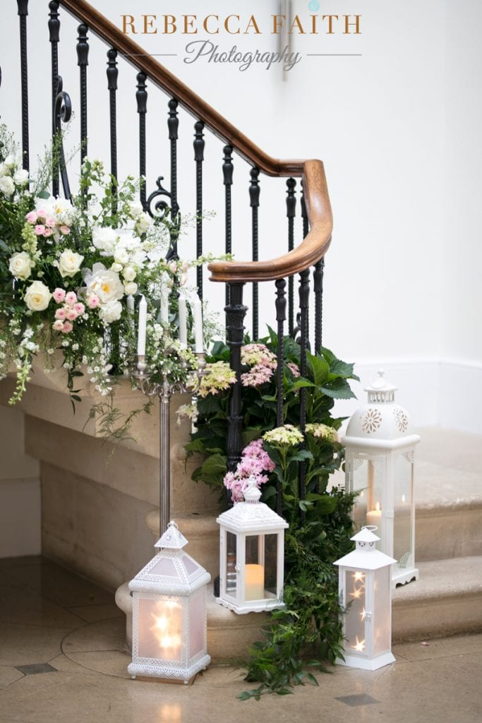 Old Down Manor Staircase Bijoux Floral