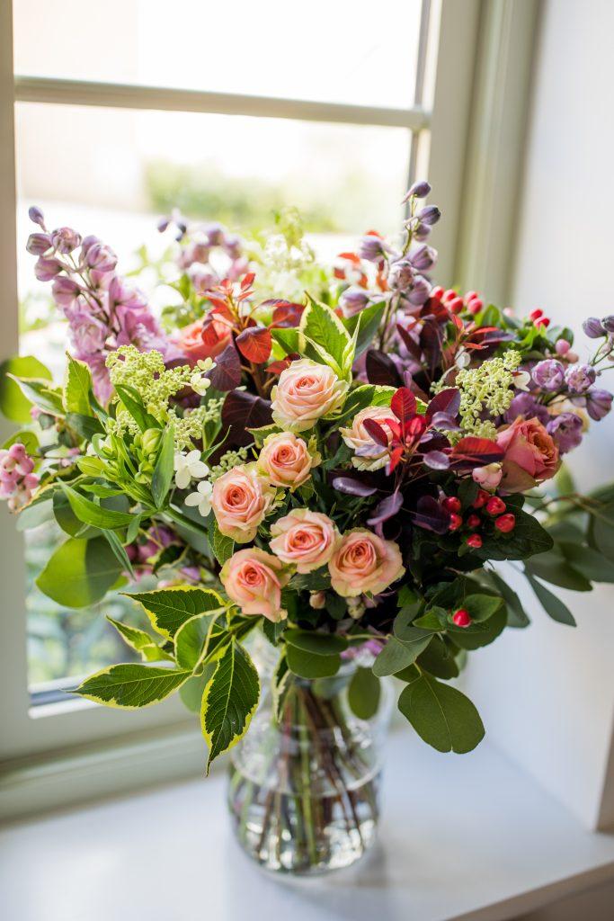 seasonal flower bunch