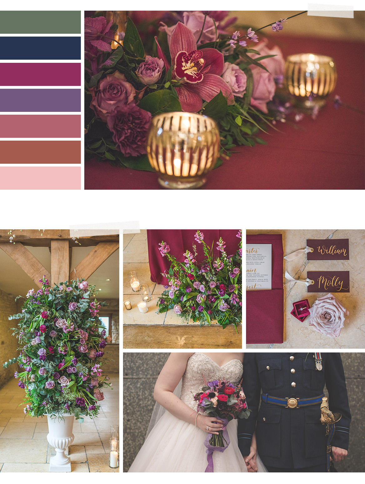 Bristol wedding florist