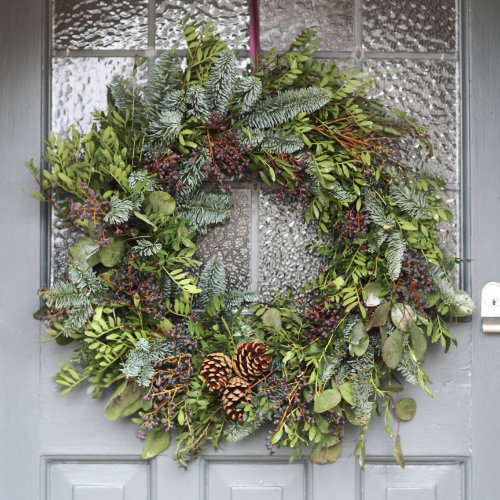 Rustic Christmas Door Wreath Christmas door wreath for sale in Bristol