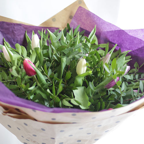 Tulip Love Flower bouquet for delivery Bristol