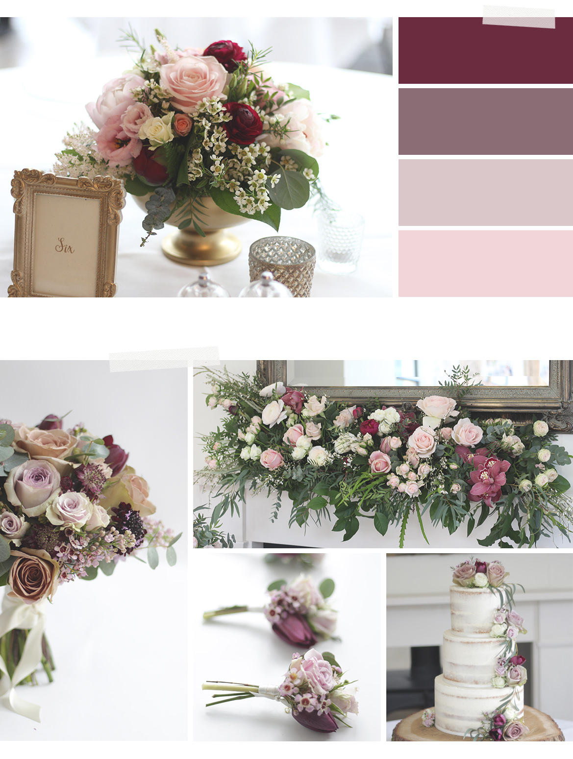 Cotswold wedding florist